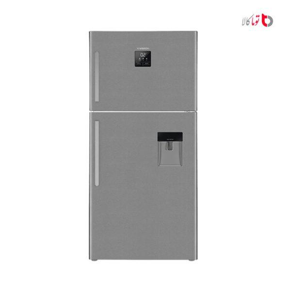 یخچال فریزر ایکس ویژن مدل TT580 تیتانیوم